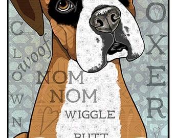 Pop Art Boxer Leash Holder Pet Leash Hook Dog Leash Collar Hook Pet Home Decor Dog Lover Gift Organizer Pet Art