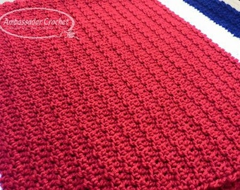 Toddler/ Child - Jacob's Prayer Blanket Crochet Pattern PDF 231