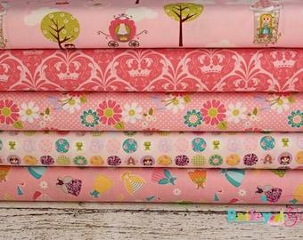 Dream and a Wish Fabric by Riley Blake 1 yard bundle, 5 prints, 5 yards total
