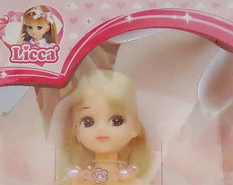 The Takara New Japanese Licca Doll with a Handmade Necklace.Ensemble