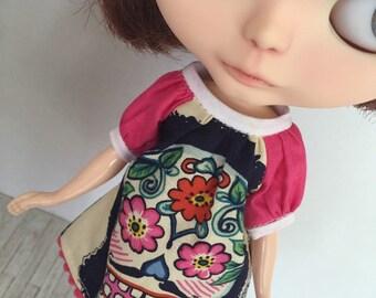 Blythe Smock Dress - Calavera