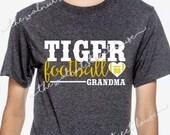 ORIGINAL DESIGN - Touchdowns are for winners, Football mom t-shirt, football girlfriend tee, love my football player, football grandma