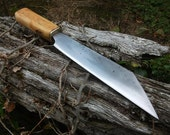 Custom Deluxe Hand Forged Seax, Scramasax, Viking or Celtic knife made to order