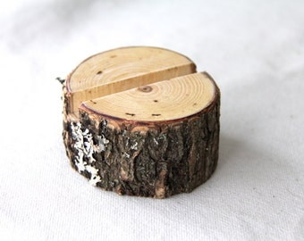 elm- ONE tree branch business card holder