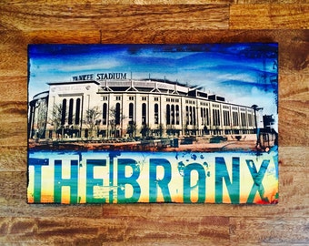 Yankee Stadium and Bronx Collage