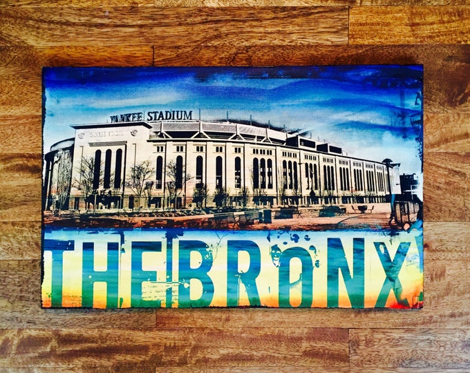 Yankee Stadium and Bronx Collage