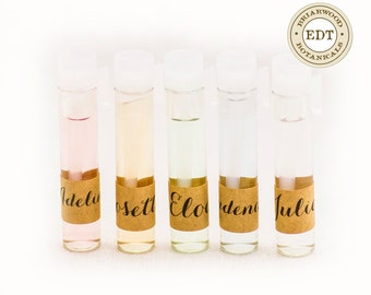 Perfume Samples - Eau De Toilette - 1ml Vial