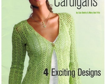 Crochet Cardigans 4 Exciting Designs