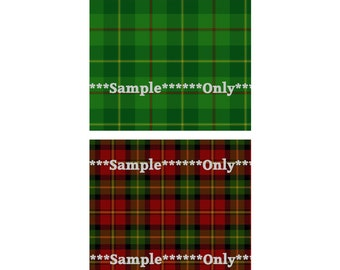 Set of 10 CU Tartan Plaid Digital Collage 4x4 Inch Squares Christmas Ornaments DIY Tile Coaster 5 Digital Image Sheets Instant Download