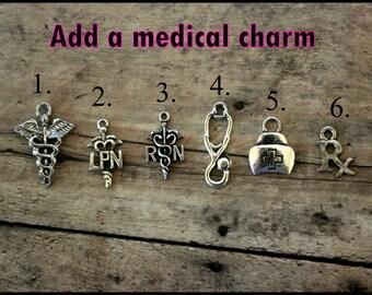 Add a medical charm