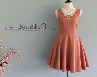 Party Angel Dress Reddish Brown Backless Party Dress Brown Backless Dress Prom Party Wedding Cocktail Bridesmaid Dress Brown Dress XS-XL
