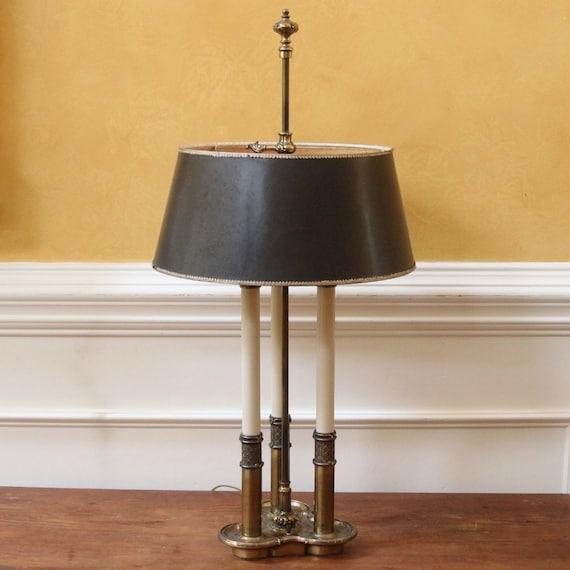 Vintage Stiffel Lamp Bouillette Style Brass. By