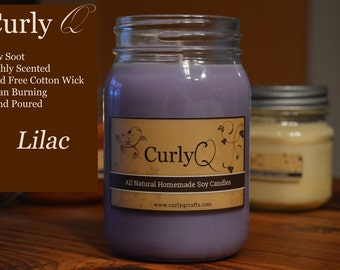 Lilac 16oz Soy Candle