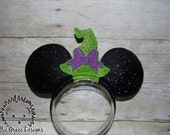 Witch Hat Mouse Ears Headband
