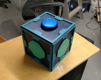 Mr Meeseeks Box from Rick and Morty - non-talking version.