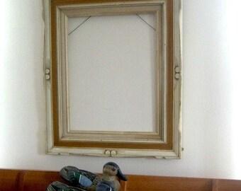 Vintage Wood Distressed Finishing Art Frame Artist Tool