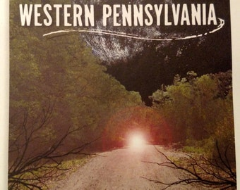 Paper back Book Haunted Roads Of Western Pennsylvania