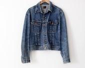 vintage 70s Lee 101-J denim jacket, men's jean jacket