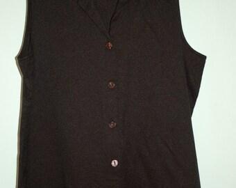 Vintage sleeveless ladies top