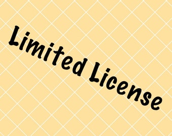 Limited License for Designs