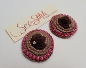 Nipply Crocheted Nipple Pasties with tape