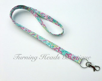 Skinny Lanyard ID Badge Holder / Teacher Appreciation Gift