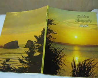 Golden Moments IDEALS Collectible Book of Pictures, Poems, Verses Filled With Lots of Great Memories to Read, Enjoy, Share or Frame Pages