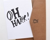 The Oh Hark Card, Christmas Collection The Silent Night