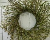 Curly Willow Wreath   Natural Wreath  Willow Wreath  RESERVED FOR PRINCRISSY
