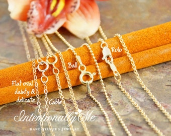Add on 14K Gold Filled Chain
