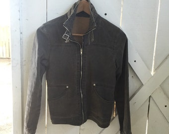 Awesome vintage fitted moto jacket xs/s