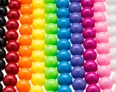 100 GUMBALL Beads 20mm Bubblegum Chunky Beads Resin Round
