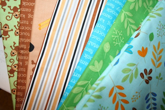 Zoofari Fabric Collection (7 Assorted Yards)