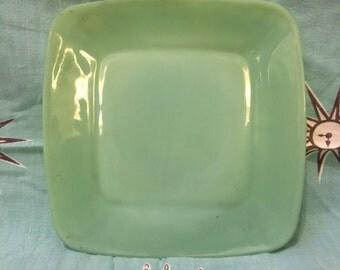 Fire King Jadeite Charm Saucer Plate