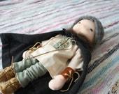 Olaf the VIking Natural Fiber Art Doll