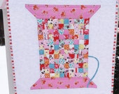 Sewing Spool Mini Quilt COMPLETE KIT
