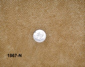 Andover Dimples Quilting Fabric Sold by the Half Yard, Blenders, Tan N