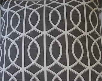 Gray Cushion Cover