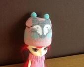 Cute Blythe fox winter hat
