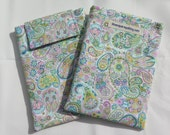 Kindle Paperwhite Case, Kindle Paperwhite Sleeve, Kindle Paperwhite Cover - Kindle Voyage - pastel paisley