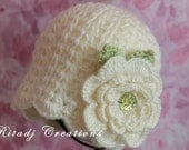 Baby Girl Crochet Hat, Crochet Hat, Baby Hat, Newborn Crochet Hat, Newborn Hat, Girls Hat, Girls Crochet Hat, 0-3 Months