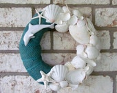 Seashell Coastal Wreath