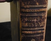 Godey's Lady's Book, 2 Volume Set, Hardbound, 1865
