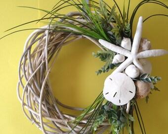Beach Wreath- Whitewashed Wreath