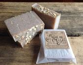 2 Bars of Handmade olive oil soap, vegan - you choose scents