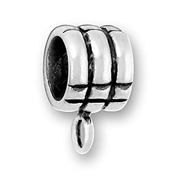 Rings Charm Bead Add A Charm Holder Sterling Silver Fits Most