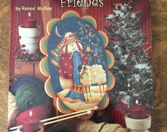 Plum Purdy Warm and Wooly Friends by Renee Mullins Tole Painting Pattern Book