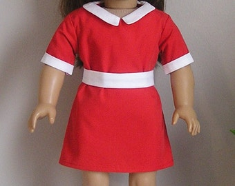 Annie Dress for AG or 18 inch Doll,