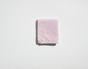 Linen Dish Towel in Red Stripe