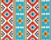 Boppy Pillow Cover- Personalized Boppy Cover- Aztec Print and Aqua Minky Boppy Cover